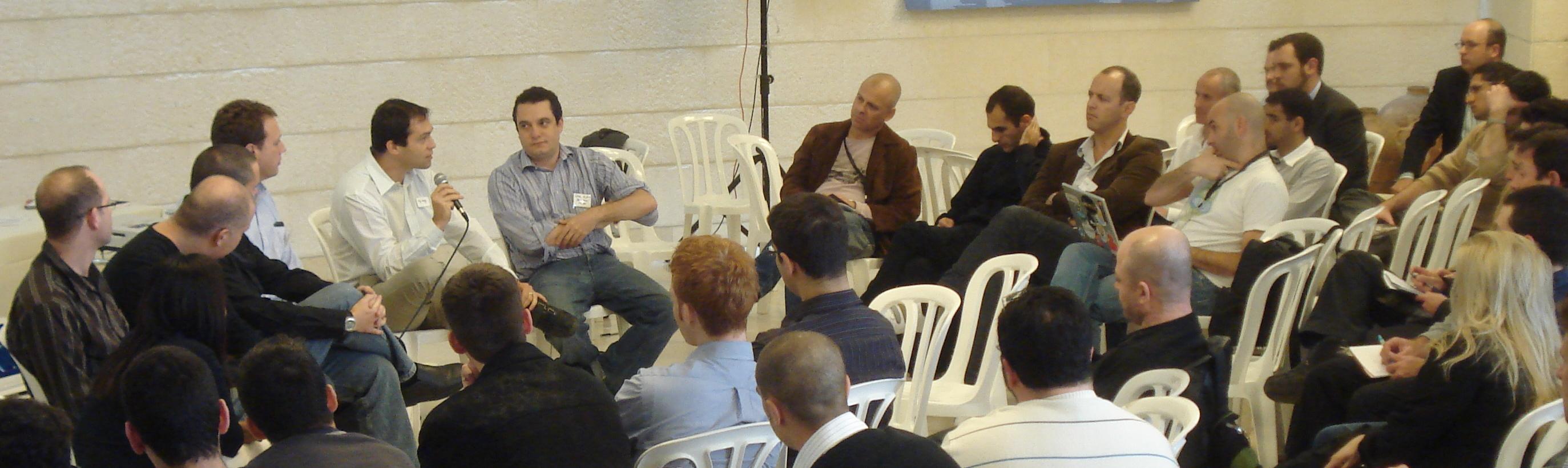 Seedcamp Tel Aviv Panel Discussion '09