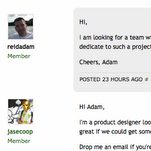 Activity in the Seedcamp Forums