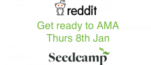 Ask Seedcamp Anything on Thu 8th Jan