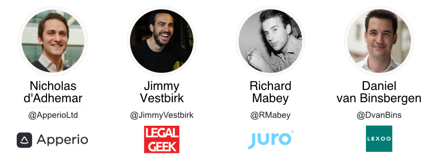 Legaltech imagery - speakers (update)