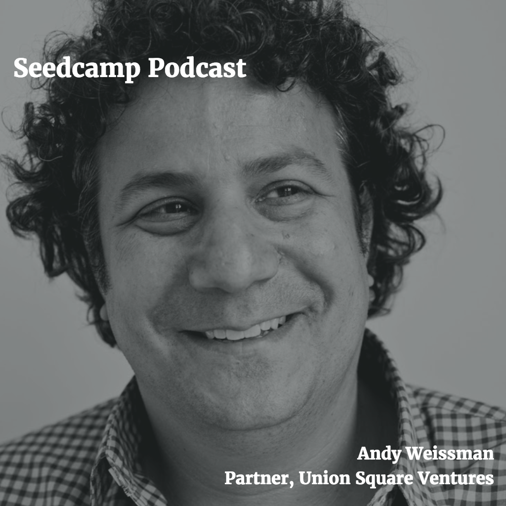 Andy Weissman, Partner at USV, on blockchain, network effect businesses and the evolution of the social web