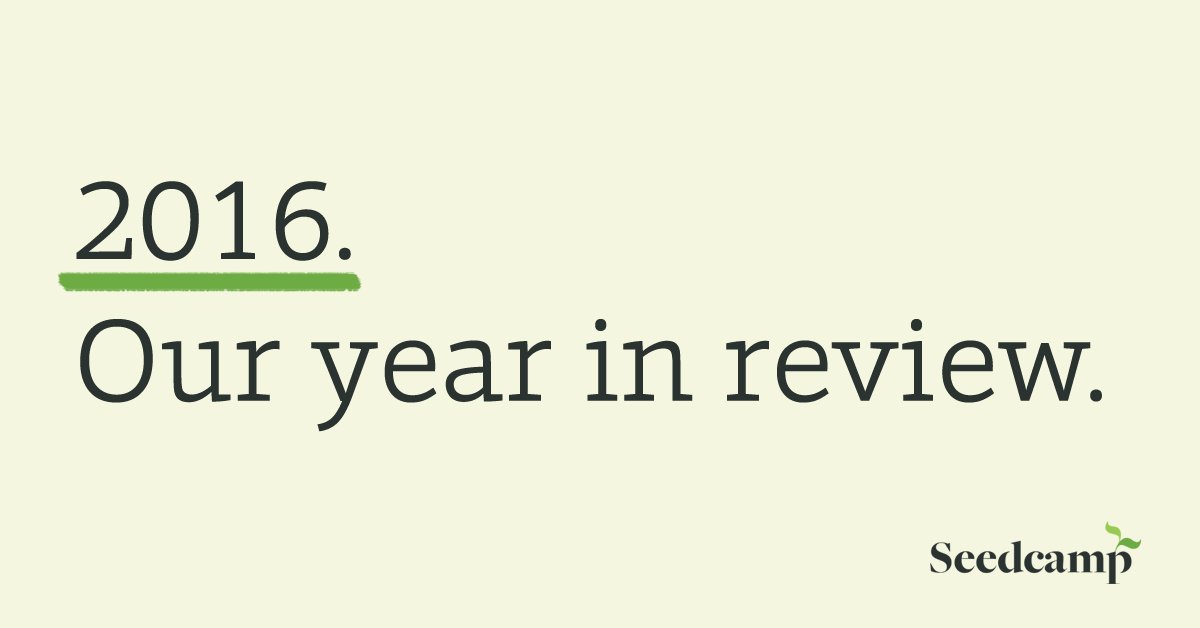 Seedcamp 2016 Year in Review