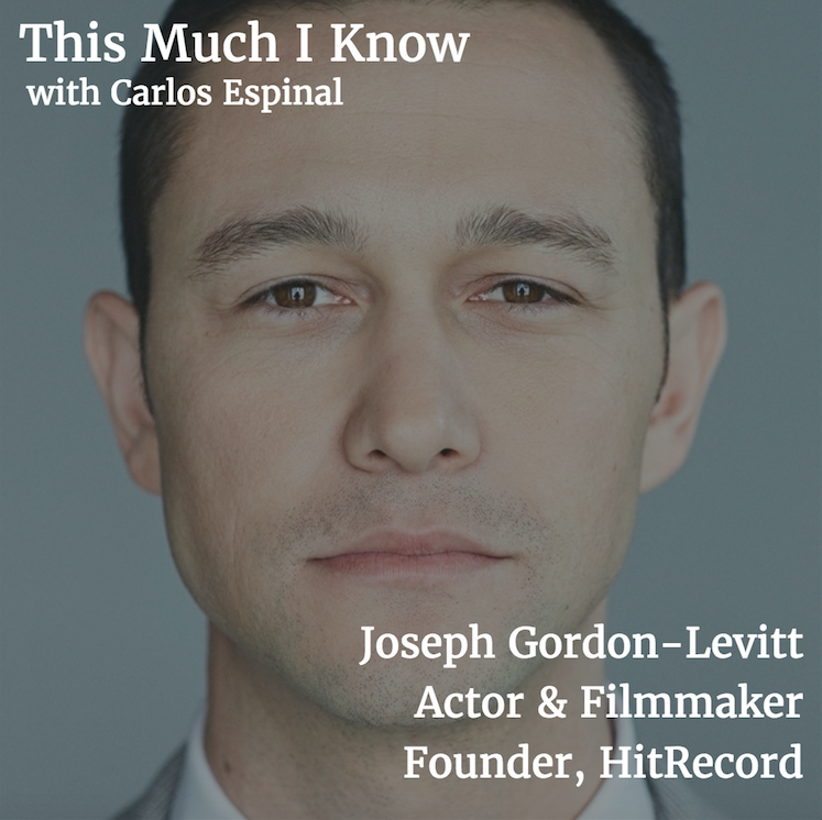 This Much I Know: Joseph Gordon-Levitt on disrupting Hollywood and creative collaboration with HitRecord