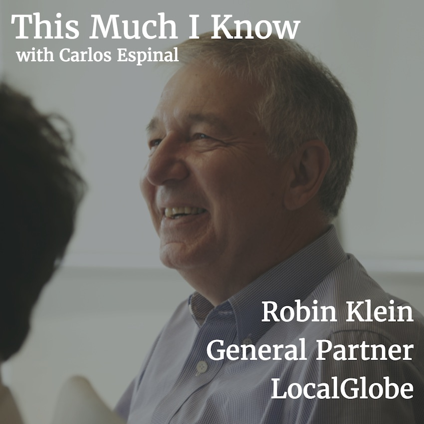 This Much I Know: LocalGlobe's Robin Klein on founder-market fit and the future of European venture
