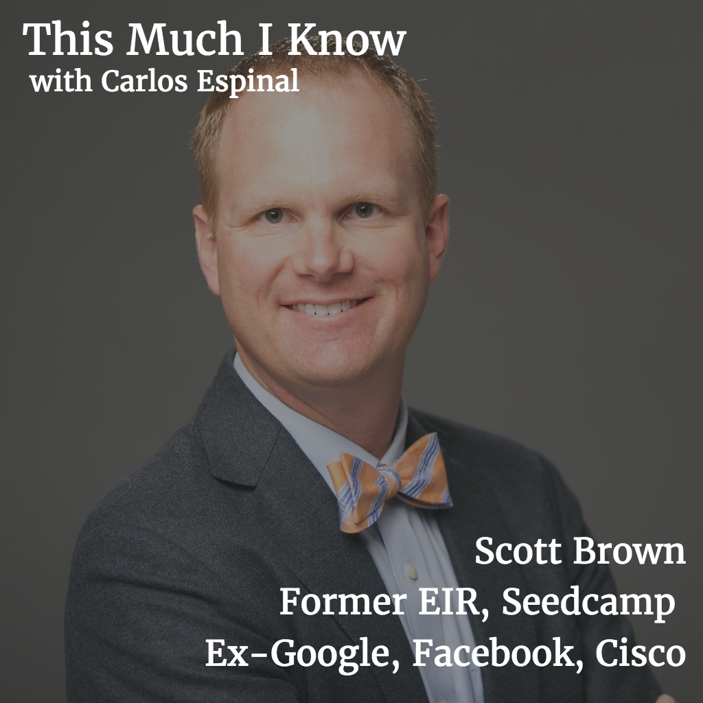 This Much I Know: Marketing guru Scott Brown on economies of content and nailing marketing fundamentals