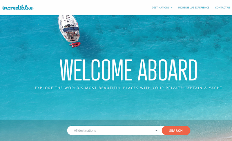 incrediblue Joins Seedcamp, Raising $1.8m to Bring Yacht Holidays to Everyone