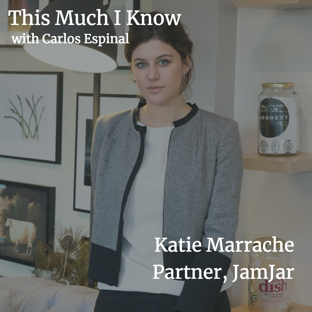 This Much I Know: Katie Marrache, Partner at JamJar on building consumer brands