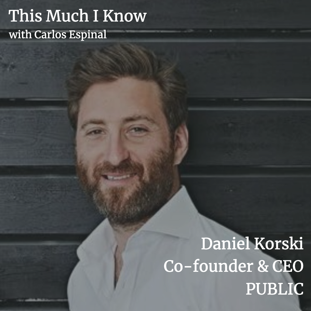 This Much I Know: Daniel Korski, co-founder and CEO of PUBLIC, on the bright future of Govtech
