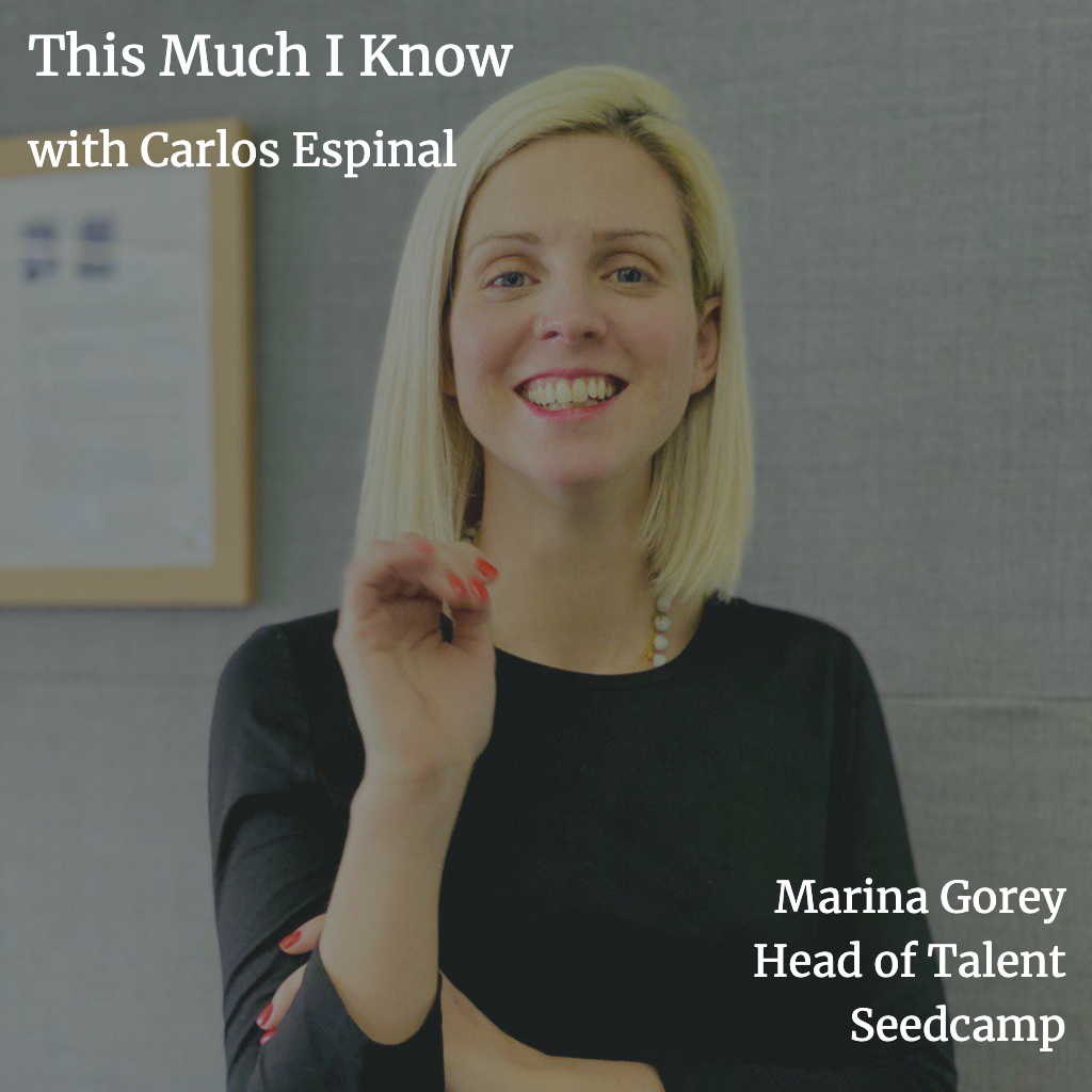 This Much I Know: Marina Gorey on the importance of empowering people in your team as you scale