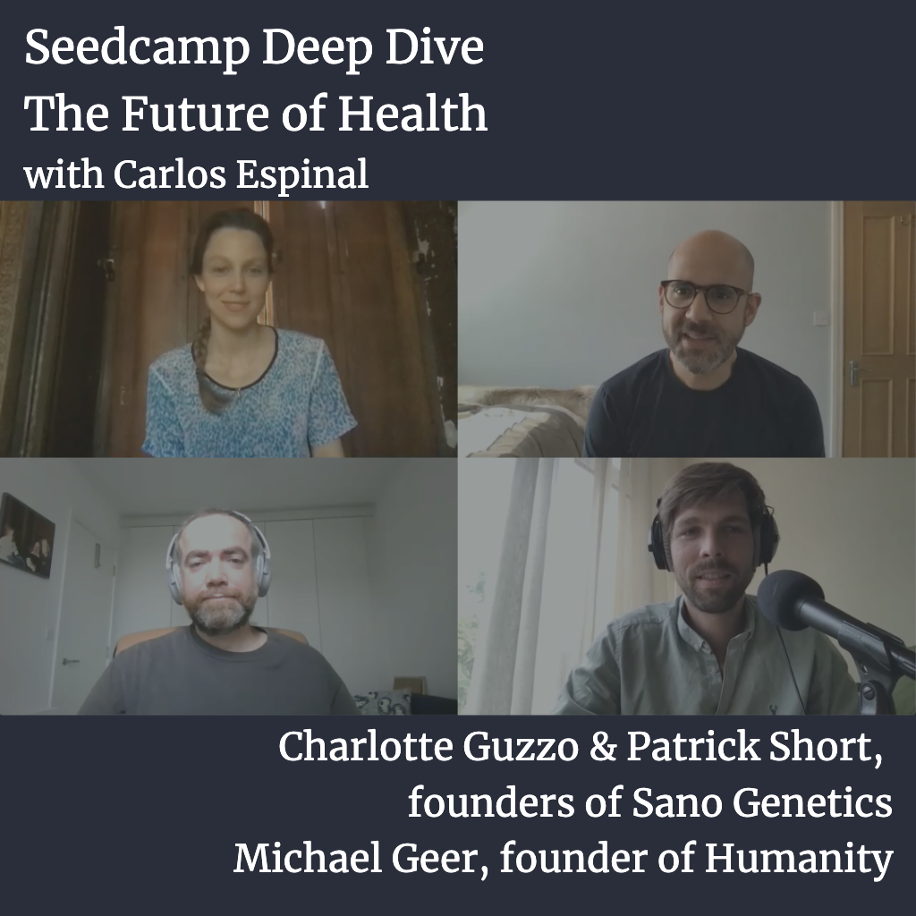Deep Dive: The Future of Health with the founders of Sano Genetics & Humanity