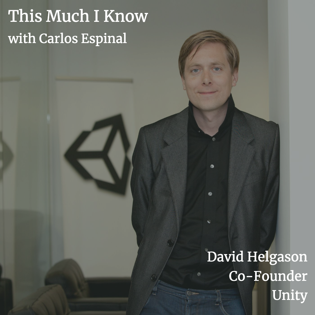 This Much I Know: Unity Founder, David Helgason, on the journey from young developer to democratising game development