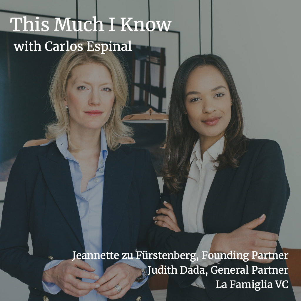 This Much I Know: La Famiglia's Jeannette zu Fürstenberg and Judith Dada on the Picasso painting that is a startup