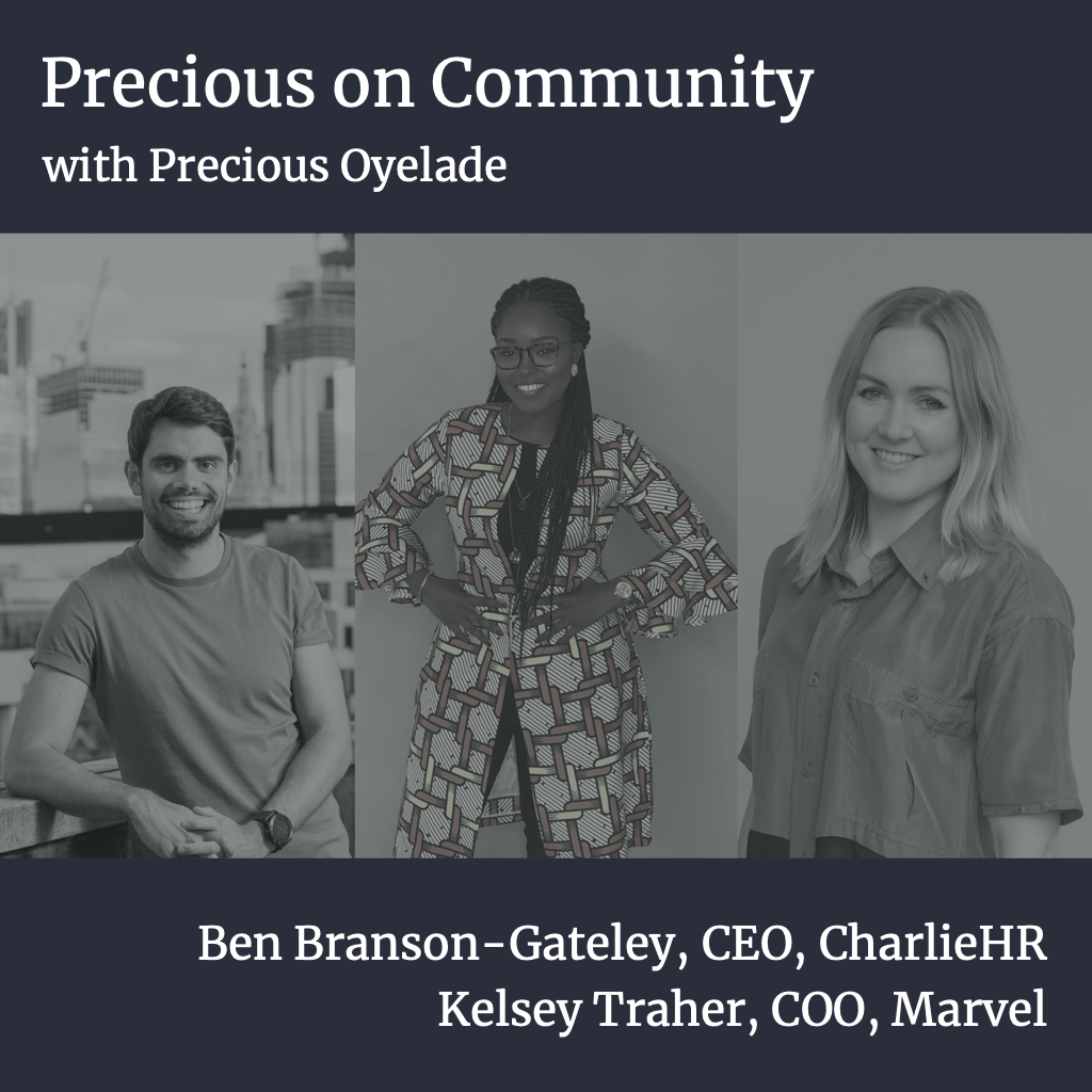 Seedcamp Sessions: Precious on Community: COO Stories — Building Community through Consistency